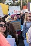 2. jährliches Frauen ` s März - Gott segnen jeder Lizenzfreies Stockbild