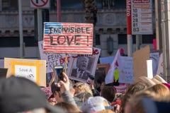 2. jährliches Frauen ` s März - unteilbare Liebe Lizenzfreie Stockfotografie
