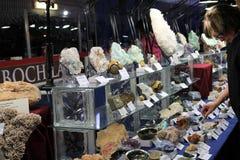 23. jährliches Toronto Jem und Mineralshow Lizenzfreies Stockbild