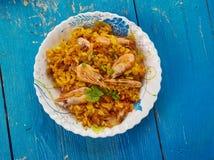 Jäkel Fried Rice Royaltyfri Fotografi