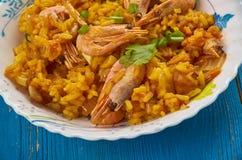 Jäkel Fried Rice Royaltyfri Foto