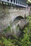 Jäkels bro från den near överkanten, gammal uppsättning av tre broar Royaltyfria Foton