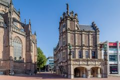 Jäklar inhyser i Arnhem Nederländerna Royaltyfria Bilder