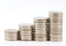 Jämnt mynt Fotografering för Bildbyråer