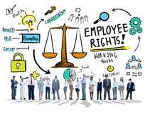 Jämställdhet Job Business People Concept för anställdrättanställning Arkivfoto