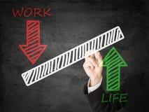 Jämvikt för livstidsarbete Arkivbild