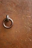 järn för 01 dörr Arkivbild