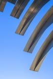 Järn strukturerar utomhus- Arkivfoton