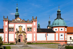 Järnekkullekloster, Pribram, Tjeckien, Europa Royaltyfri Bild