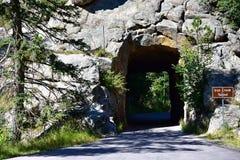 Järnliten viktunnel South Dakota royaltyfri bild