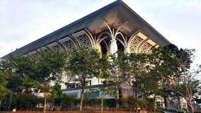 Järnmoské, Mizan Zainal Abidin Mosque Royaltyfri Fotografi