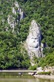 Järnportar - Djerdap, Serbien arkivbilder