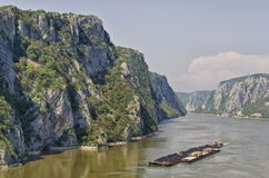 Järnportar - Djerdap, Serbien royaltyfria bilder