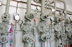 Järnrör för vattenförsörjning Arkivfoton