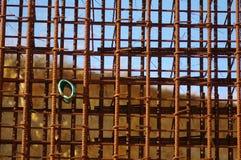Järnstänger för betong Arkivfoto