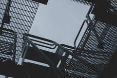 Järnstegeabstraktion fotografering för bildbyråer