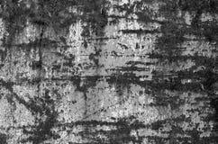 Järntextur i svartvitt rostigt ark Royaltyfria Foton