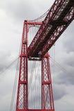 Järntorn av den Vizcaya bron Fotografering för Bildbyråer