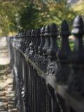 Järnträdgårdstaket Royaltyfri Fotografi