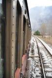 järnvägångadrev Arkivbild