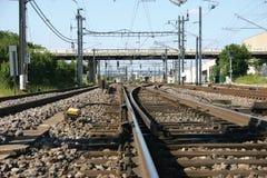 järnväg Royaltyfri Bild