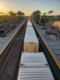 järnväg fotografering för bildbyråer