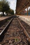 Järnväg. Royaltyfri Foto