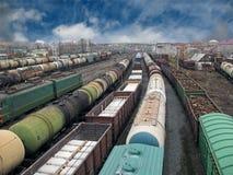 järnväg 3 Arkivfoto