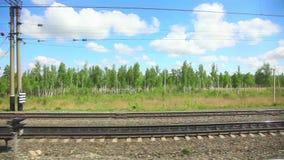 Järnväg stock video