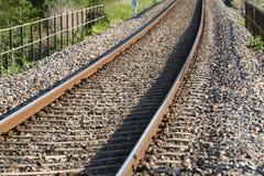 järnväg Arkivfoto