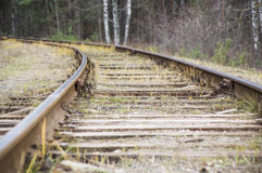 järnväg Royaltyfri Foto