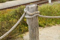 Järnväg barriär Royaltyfri Foto