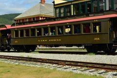 Järnväg bil Arkivfoto