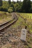 Järnväg för smal gauge royaltyfri fotografi