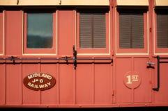 Järnväg första klassvagn för central landsdel, västra Australien Royaltyfri Fotografi