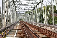 Järnväg i Japan Arkivbild