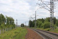 Järnväg linjer Royaltyfri Foto