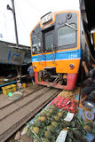 Järnväg marknad Fotografering för Bildbyråer