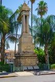 Järnväg monument för ottoman, Haifa arkivfoton