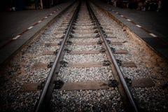 Järnväg retro för vägriverkwai för stil aldrig sinande bro Arkivbilder