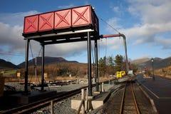 järnväg rhydstation för ddu Royaltyfri Foto