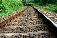 järnväg spår Royaltyfria Bilder
