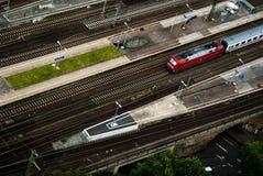järnväg spår Royaltyfri Fotografi