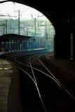 Järnväg spårar Royaltyfria Foton