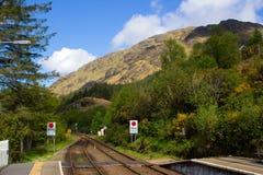 järnväg station fotografering för bildbyråer