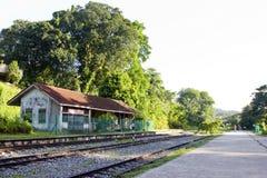 järnväg station Royaltyfri Fotografi
