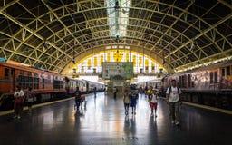 järnväg station Royaltyfria Bilder