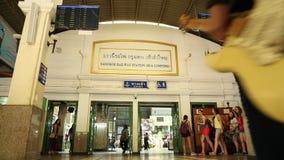 järnväg station arkivfilmer