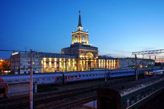 järnväg station volgograd Royaltyfri Foto