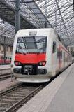 järnväg stationsdrev Royaltyfri Foto